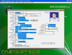 Tampilan Data Pegawai Dalam Aplikasi Lengkap Dengan Gambar