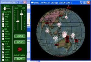 Mengamati Gempa Secara Online dan Sebagai Pembelajaran