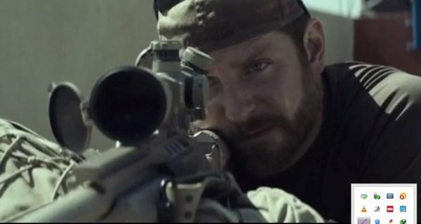 Chris Kyle dalam American Sniper